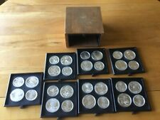 Canadian 1976  Olympic Silver Coin set of 28 ...30 ounces of silver