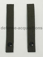Military MOLLE Replacement Straps 7 INCH Tactical Pouch Pack RANGER GREEN