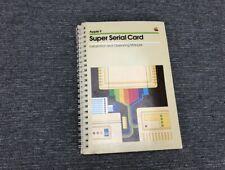Apple Education II Super Serial Card II Instruction Manual
