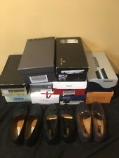 13 Pair Size 8.5 M Excellent Lot Loafer Dress Shoe Sport Suede Tan Italy Mezlan