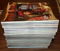 Lot of 32 Lapidary Journal Magazines 1990s
