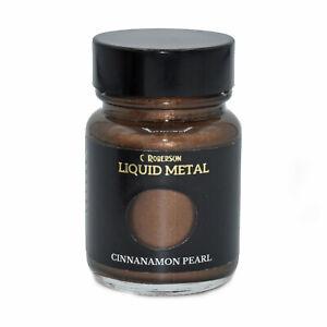 CINNAMON PEARL LIQUID METAL METALLIC PAINT 30ml PAINTING LEAF GILDING CR78681D