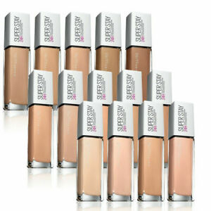 Maybelline New York SuperStay Foundation 24 Hour Full Coverage CHOOSE YOUR COLOR