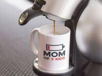 Mom Of 3 Kids Mug Funny Mothers Day Gift Mom Coffee Mug Mothers Day Mug Gift Mug