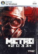 THQ Metro 2033 - Juego PC, FPS NUEVO Y PRECINTADO