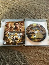 PS3 WWE Legends of WrestleMania with Case & Instructions