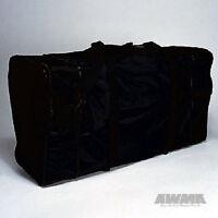 Martial Arts Tournament Equipment Gym Gear Bag Karate Taekwondo MMA Plain Black