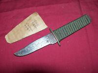 Vietnam Era Camillus Cutlery Co Sock Knife Old Army US USGI Hideaway Fighting