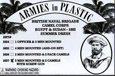 Armies in Plastic Egypt & Sudan British Naval Camel Corps Summer w/Screw Gun #4
