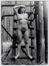 PRETTY NUDE IN THE WOODS DDR NACKTE IM WALD FKK * Vintage 60s Photo V BERNDT #6
