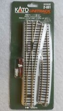 Kato Unitrack Code 83 HO Gauge 2-861 Electric Turnout #6, Right   ~  TS