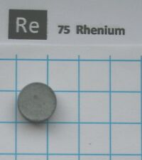 3 gram Rhenium metal pellet 99.96% pure element 75 sample