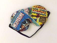 Sleep Mask - Wolverine and Captain America Comic Book Page - Comes As Shown