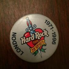 Hard Rock Cafe 1990s Collectable Enamel Badges