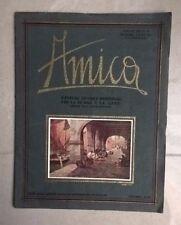 RIVISTA AMICA PER DONNA E CASA MODA ANTICA N.3 1931