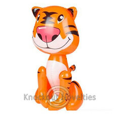 "24"" Inflatable Tiger  Inflate Blow Air Decor Balloon Gift Decoration Party Gift"