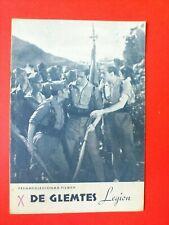 "Vintage Danish Film Program. ""De glemtes Legion"" The Spanish Foreign Legion."