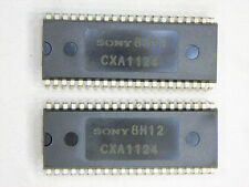 "CXA1124  ""Original"" SONY   42P DIP IC  2 pcs"