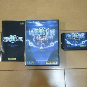 Used Undead Line Sega Mega Drive Sega Video Game maintained very rare from Japan