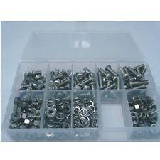 M6 Innensechskantschrauben V4A Set 400 Teile Edelstahl A4 ISO7380