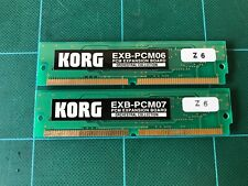 Korg EXB-PCM06/07 Orchestral Collection PCM Expansion Board free shipping