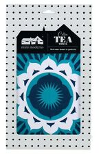 Ulster Weavers Modern Tea Towel Kitchen Textile Dish Cotton Darjeeling Blue Mini
