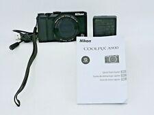 Nikon Coolpix A900 Compact Digital Camera 20.3MP Appears Mint & unused 32GB