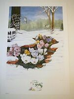 "Mary K. Lee, S/N ""Prelude"", Artist Remarque 16/30, Mint Condition Print & Folder"