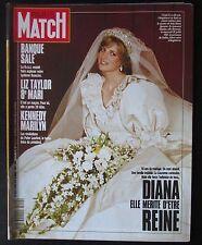 PARIS MATCH 1991  LADY DIANA LIZ TAYLOR KENNEDY MARILYN MONROE LES GENGIS KHAN
