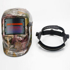 Pro Solar Auto Darkening Mask Welding Helmets Home Safety Leaves Colorful US