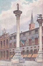 VICENZA - Le Colonne del Redentore e di S.Marco, e Chiesa di S.Vincenzo