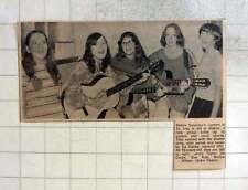 1972 13-year-old Guitar Band, Jennie Taylor, Liz Cocks, Sue Rule, Wilson, Deacon