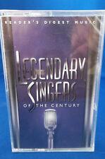 "READERS DIGEST MUSIC - ""Legendary Singers of The Century"" - 4 CASSETTE SET"