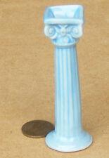 1:12 BLU IN CERAMICA Pilastro colonna piedistallo in Miniatura Casa Delle Bambole Accessorio Giardino
