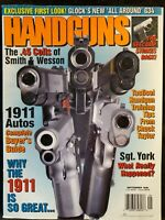 Handguns Magazine September 1998 1911 Autos