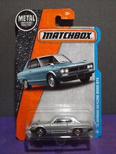 Matchbox Silver '71 Nissan Skyline 2000 GTX #11 of 125  Long Card, Non Turbo.