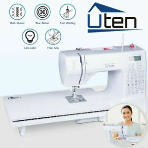MINI Portable Electric Sewing Machine 200 Stitches Kit +Board Extension Table