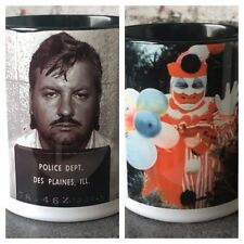 John Wayne Gacy Jr Serial Killer Police Mugshot Scary Clown True Crime Gift Mug