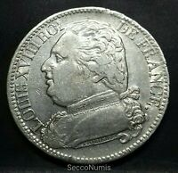 France. Louis XVIII 5 Francs 1815 i Limoges