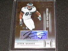 JAVON KEARSE SIGNED AUTOGRAPHED FOOTBALL CARD CERTIFIED