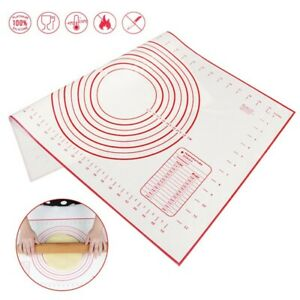 Extra Large Silicone Non Stick Baking Mat for Pastry Rolling with Measurement