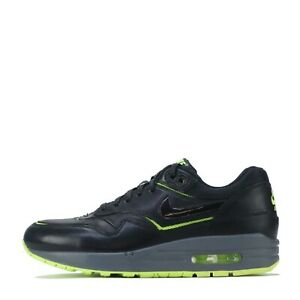 Nike Air Max 1 Cut Out Premium Women's Trainers Shoes Black UK 4.5