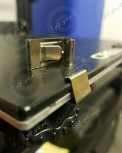 UPGRADE Low Profile 3D Printer Glass Bed Clips x4 Ender 3 4-5 & Pro CR-10, 10S