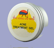 Natural Acne Treatment Gel 50ml with Emu Oil & Thyme Extract