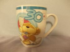 "Nice porcelain collection mug Fizzy Moon Bears you're ""30 year old"""