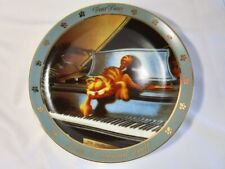 Danbury Mint 1990 - Garfield Dear Diary - I Composed Myself - Collector Plate