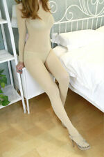 200D Super Elastic Jumpsuit Velvet Full Body Stockings Shaping Lingerie Bodysuit