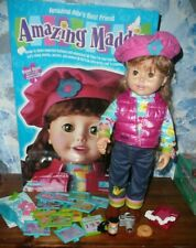 Amazing Maddie 1999 Interactive Doll by Playmates