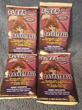 1997-98 Series 2 Fleer Basketball HOBBY 4 pack lot