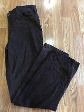 Nine West JEANS Women's Brown Corduroy Pants, Size 12 EUC